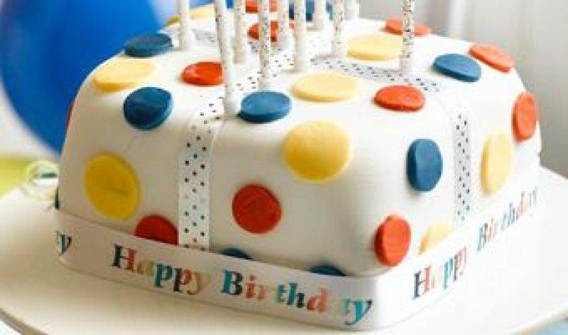 Gluten Free Select Birthday Cake Glutafin